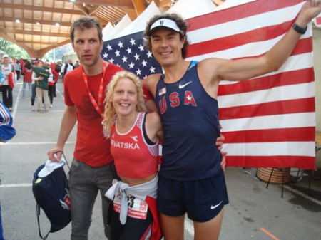 Veronika Jurišić & Scott Jurek