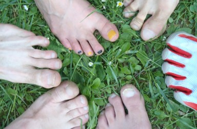 Najava 3. bosonogo druženje 21.7.2012. u 17h park šuma Dotrščina
