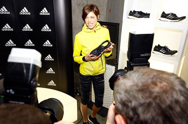 U Hrvatskoj je Adidas za testiranje tenisice odabrao Blanku Vlašić