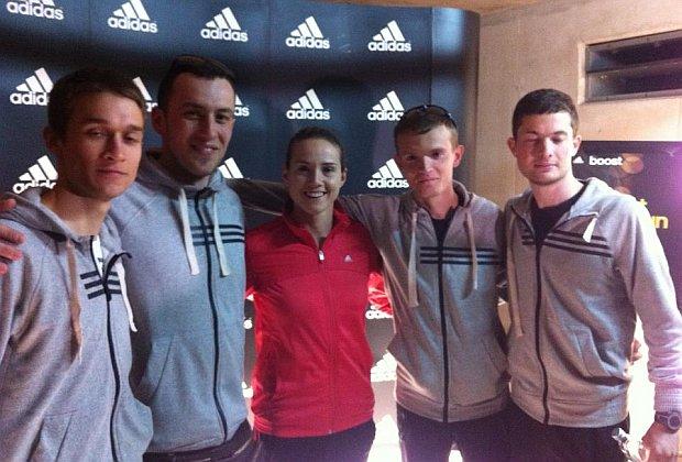 Promociji su nazočili treneri adidas škole trčanja Zagreb
