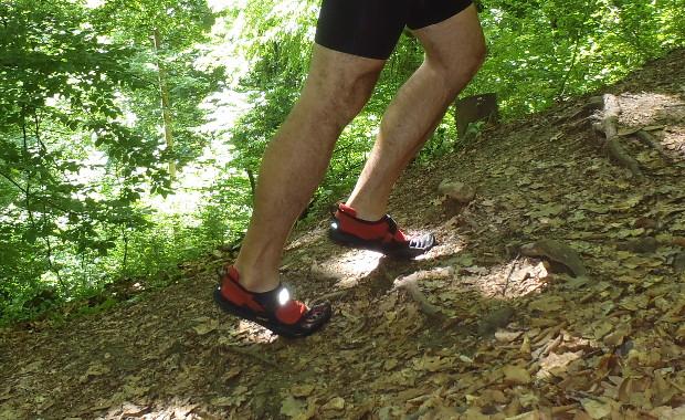 Prsti i prednji dio stopala su radni dio VFF TrekSporta